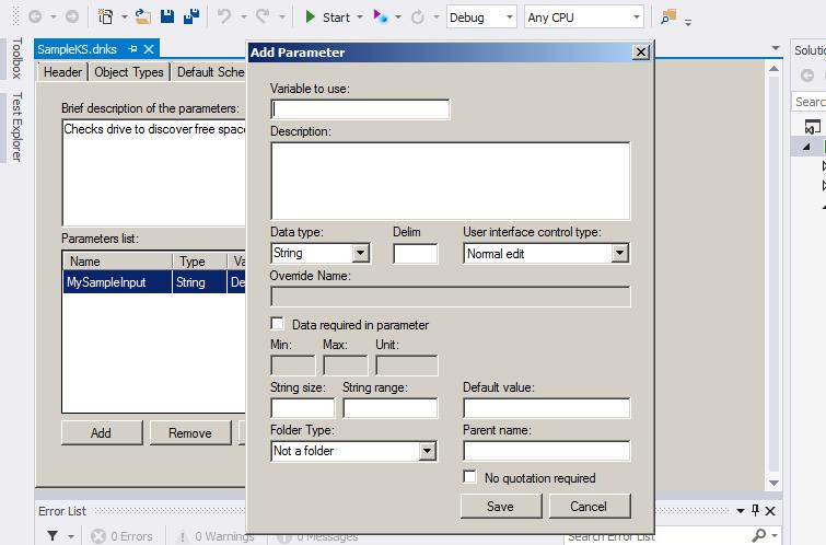 Custom Editing Tools